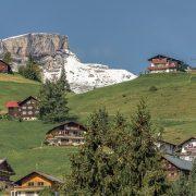 Oostenrijks huis met Oostenrijkse dekbedden